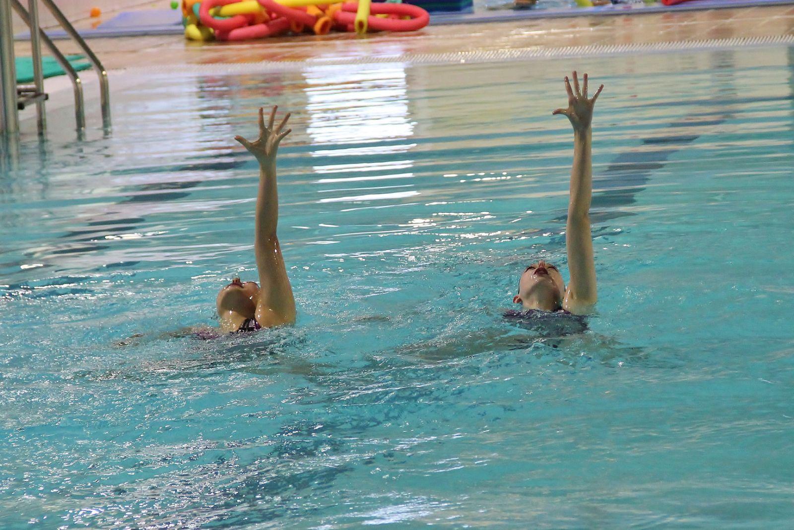(Castellano) Campeonato de Euskadi de natación artística, rutinas técnicas absoluto