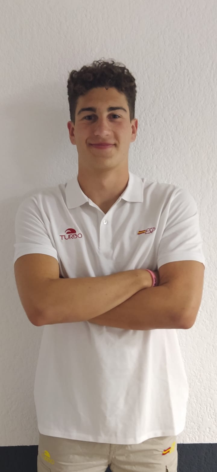 IKER GONZÁLEZ, convocado por la RFEN para el EUROPEO JUVENIL masculino